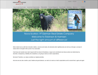 robinsonharmsen.com screenshot
