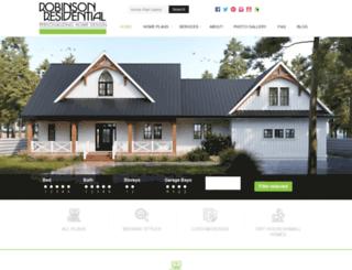 robinsonplans.com screenshot