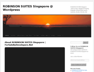 robinsonsuitessingapore.wordpress.com screenshot