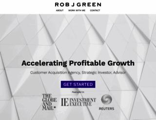 robjgreen.com screenshot