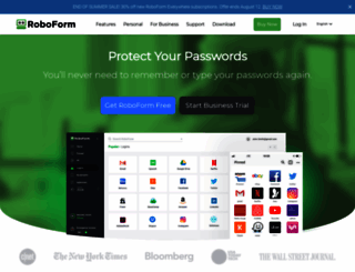 roboform.com screenshot