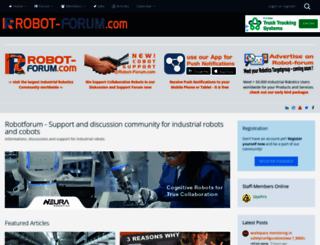 robot-forum.com screenshot