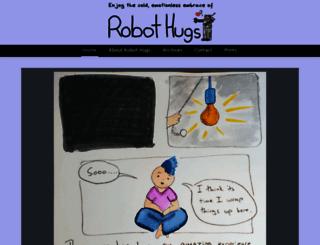 robot-hugs.com screenshot