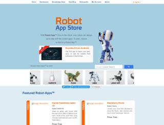 robotappstore.com screenshot