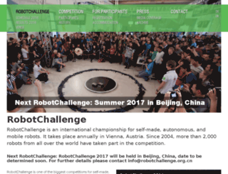 robotchallenge.org screenshot
