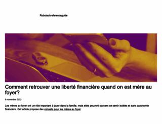 robotechreferenceguide.com screenshot
