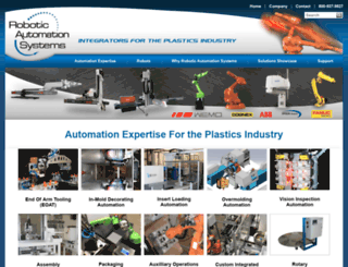 roboticautomationsystems.com screenshot