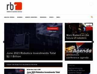 roboticstrends.com screenshot