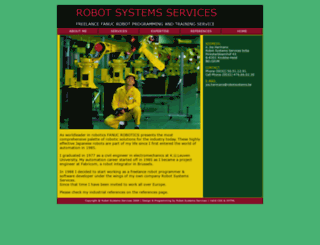 robotsystems.be screenshot