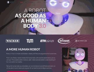 roboy.org screenshot