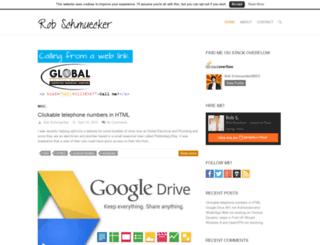 robschmuecker.com screenshot