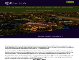 robsonranchhoa.org screenshot