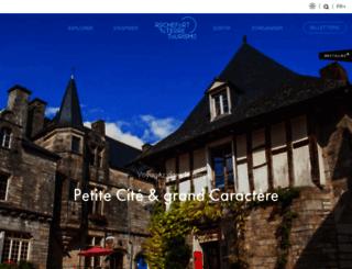 rochefortenterre-tourisme.bzh screenshot