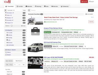 rochester.claz.org screenshot