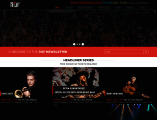 rochesterjazz.com screenshot