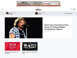 rock1017fm.com screenshot