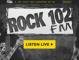 rock102rocks.com screenshot
