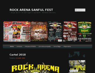 rockarena.es screenshot