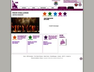 rockchallenge.co.uk screenshot