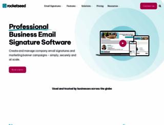 rocketseed.com screenshot