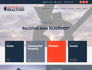 rockfordarearealtors.org screenshot