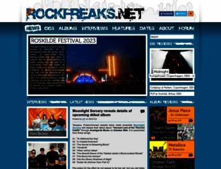 rockfreaks.net screenshot