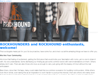 rockhoundblog.com screenshot