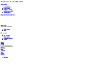 rockler.resultsdemo.com screenshot