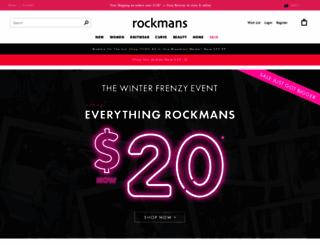 rockmans.com.au screenshot
