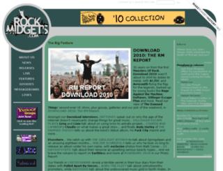 rockmidgets.com screenshot