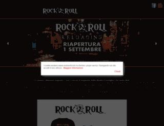 rocknrollclub.it screenshot