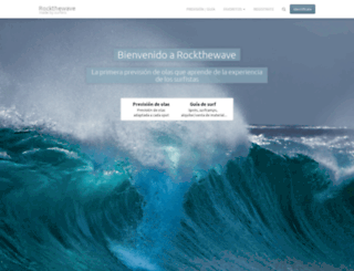 rockthewave.org screenshot