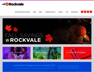 rockvaleoutletslancaster.com screenshot