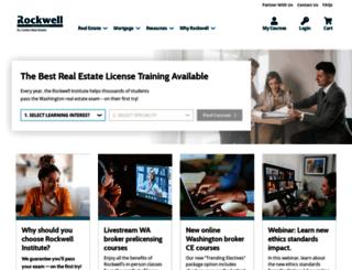 rockwelleducation.com screenshot