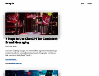 rockyfu.com screenshot