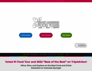 rockymountainfoodtours.com screenshot