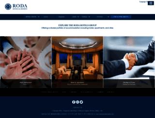 roda-hotels.com screenshot