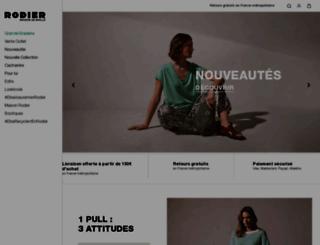 rodier.fr screenshot