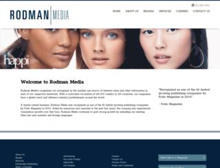 rodmanmedia.com screenshot