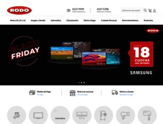 rodo.com.ar screenshot