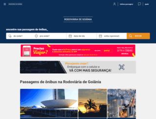 rodoviariadegoiania.com screenshot