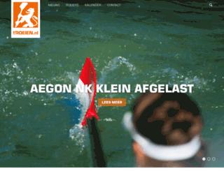 roeien.nl screenshot