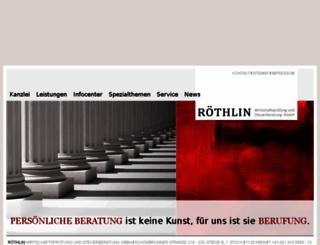 roethlin-gmbh.at screenshot