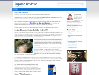 rogainereviews.org screenshot