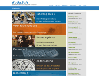 rogasoft.de screenshot