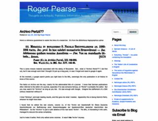 roger-pearse.com screenshot