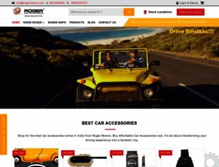 rogermotors.com screenshot