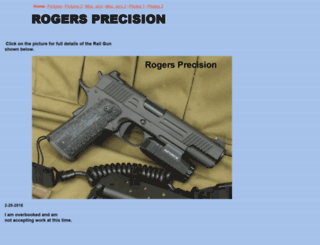 rogersprecision.com screenshot