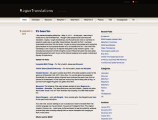 roguetranslations.wordpress.com screenshot