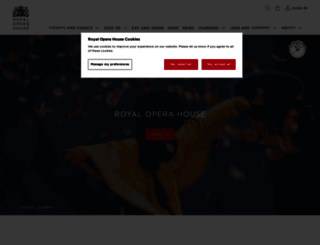 roh.org.uk screenshot